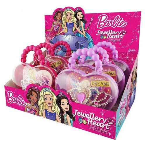 Barbie Jewellery With Candy - Assorted