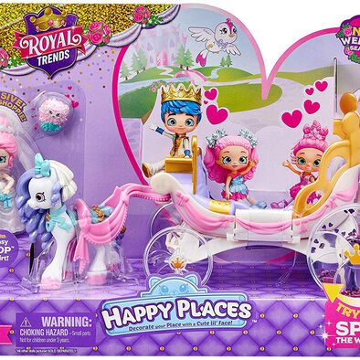 Shopkins Happy Places S8 Royal Crown Carriage