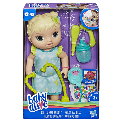 Baby Alive Better Now Bailey (Blond Hair)
