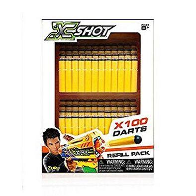 X-Shot 100 Darts Refill Pack