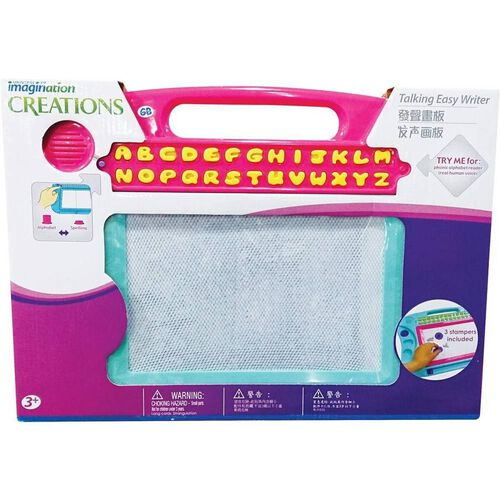 Universe of Imagination Draw N Erase Board With Phonic Reader
