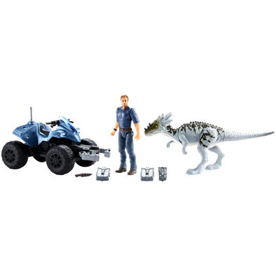 Jurassic World Basic Vehicle Dino With Figure