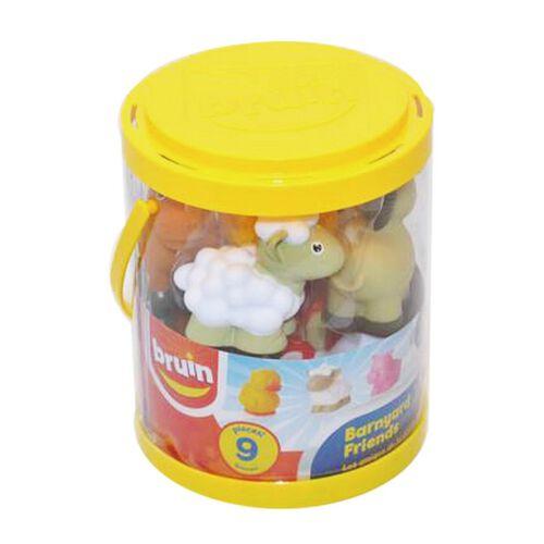 BRU Pre-School Farm Animal Bucket - Assorted
