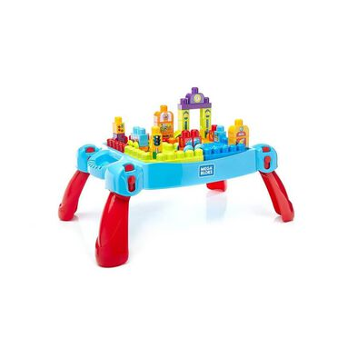 Mega Bloks Fisher-Price Build 'N Learn Table