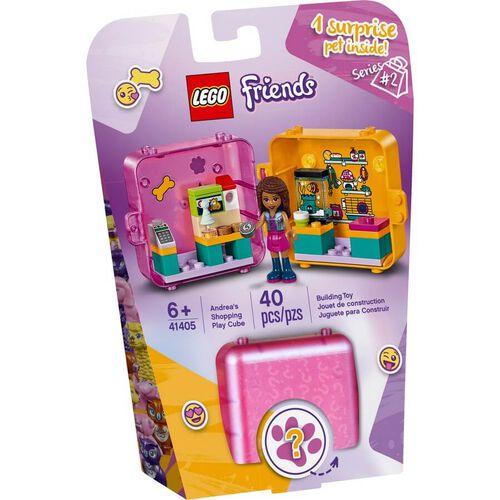 LEGO Friends Andrea's Shopping Play Cube 41405