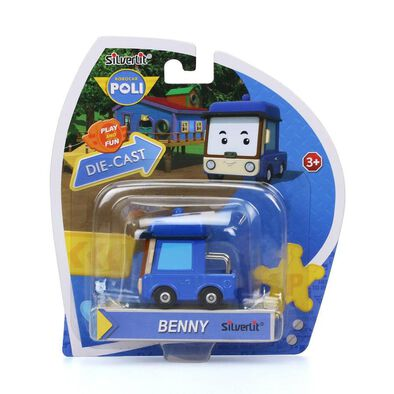 SilverLit Robocar Benny Diecast