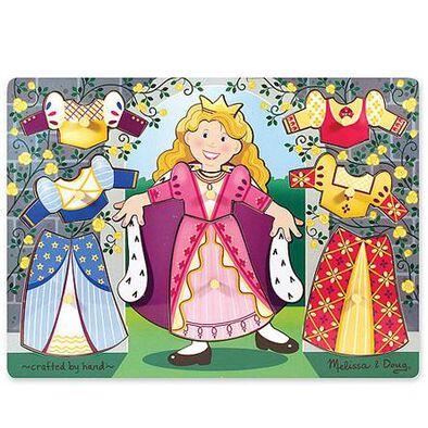 Melissa & Doug -Colourful Peg Puzzle - Assorted