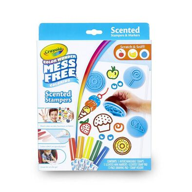 Crayola Color Wonder Scented Marker and Stamp Set
