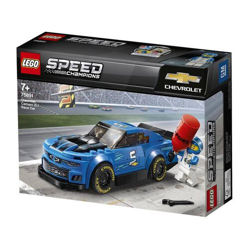 LEGO Speed Champions Chevrolet Camaro ZI1 Race Car 75891