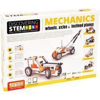 Engino S.T.E.M. Series Mechanics Wheels, Axles & Inclined Planes