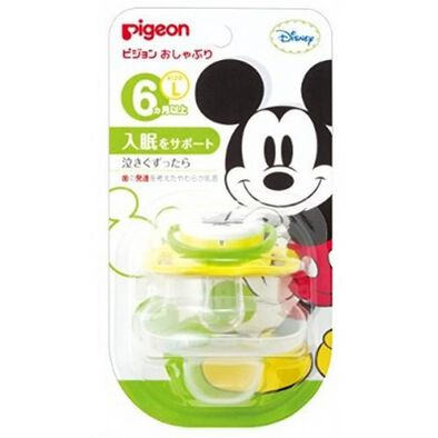 Pigeon Calming Soother L Size Mickey