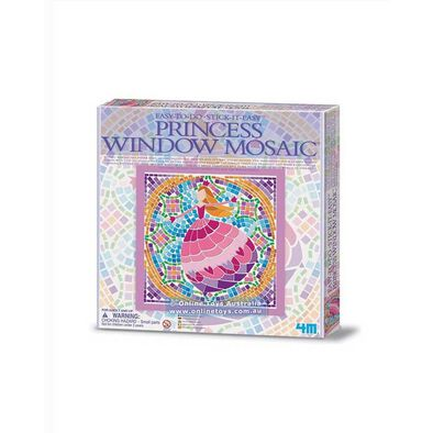 4M Easy To Do Window Mosaic Art Fairy