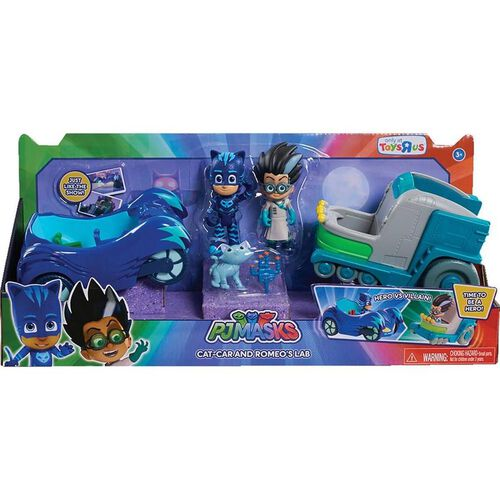 PJ Masks Hero Vs Villain Vehicles