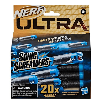 NERF Ultra Sonic Screamers 20-Dart Refill Pack