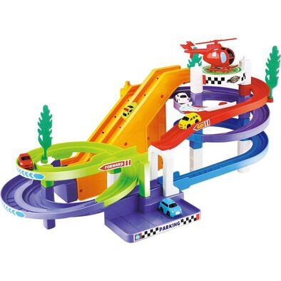 Fast Lane Racing Car Playset