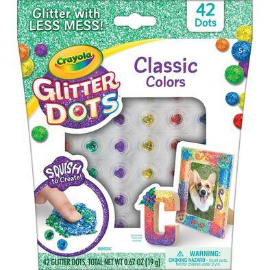 Crayola Glitter Dots Single Serve - Assorted