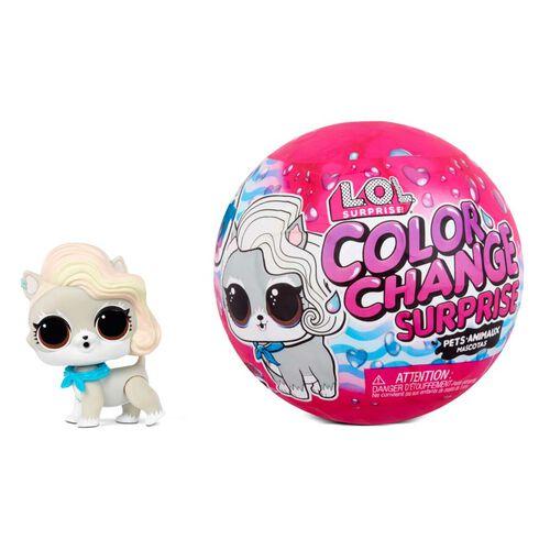 L.O.L. Surprise! Color Change Pets - Assorted