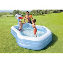 Intex Swim Center Shootin' Hoops Family Pool