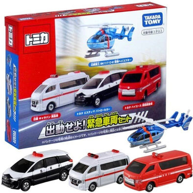 Tomica Gift Dispatch Emergency Vehicle