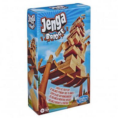 Jenga Bridge Block Stacking Game