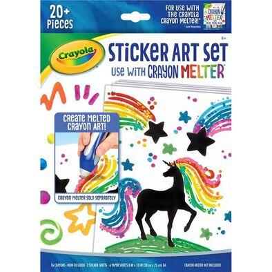 Crayola Silhouette Stickers