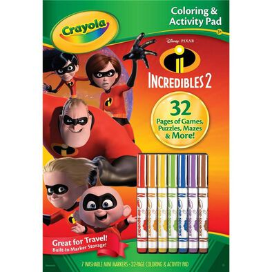 Crayola Color and Activity Pad