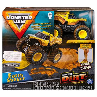 Monster Jam Kinetic Dirt Starter Set - Assorted
