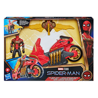 Marvel Spider-Man Deluxe Jet Web Cycle