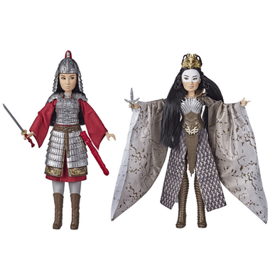 Disney Princess Mulan And Xianniang Dolls With Accessories