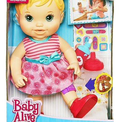 Hasbro -Baby Alive Baby Gets A Boo-Boo Doll