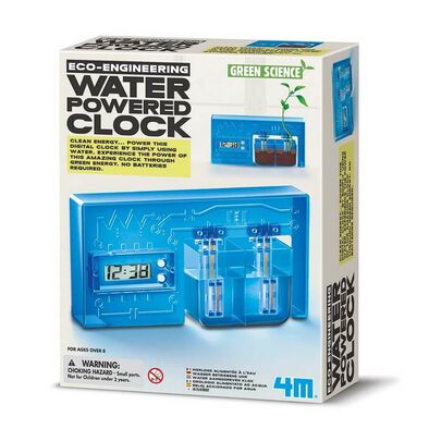 4M Green Science Water-Powered Clock