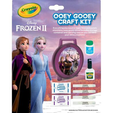 Crayola Disney Frozen 2 Ooey Gooey Craft Kit