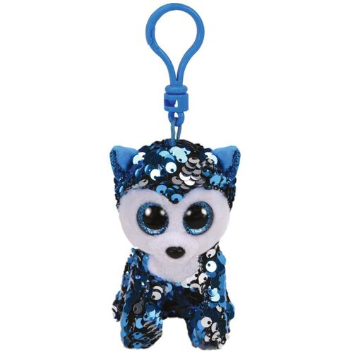 Ty Flippables Slush Huskie Sequin Clip