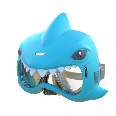 Aqua Creatures Shark Squirterz & Swim Mask Set Blue
