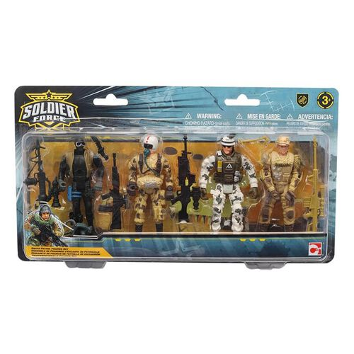 Soldier Force Squad Patrol Figure Set