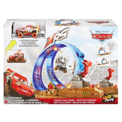 Disney Pixar Cars XRS Mud Racing Crash Challenge Playset
