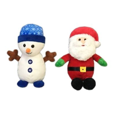 "Animal Alley 8"" Christmas Soft Toy - Assorted"