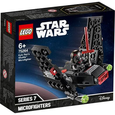 LEGO Star Wars Episode IX Kylo Ren's Shuttle Microfighter 75264