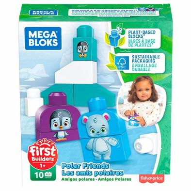 Mega Bloks First Builders Eco Polar Friends