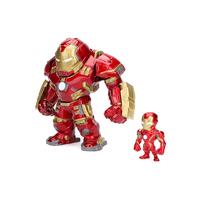Jada 6 Inch Hulkbuster & 2 Inch Iron Man Figure
