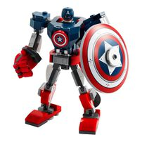 LEGO Marvel Avengers Captain America Mech Armour 76168