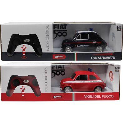 Rastar R/C 1:18 Fiat 500 Security