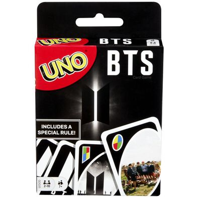 BTS UNO Card Game