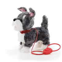 Pitter Patter Pets Walk Along Puppy Grey And White