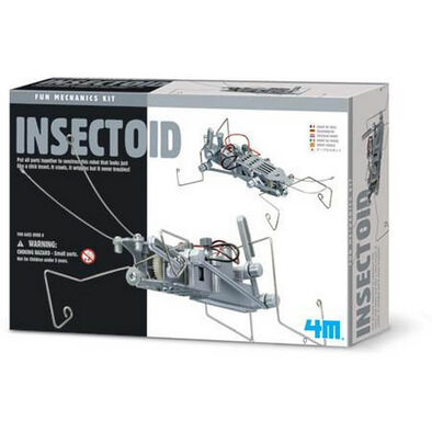 4M KidzLabs Fun Mechanics Kit Insectoid
