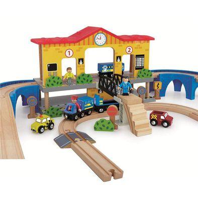 Universe of Imagination Express 52 Piece Central Station Train Set