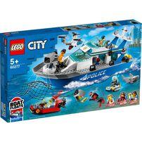 Lego City Police Patrol Boat 60277