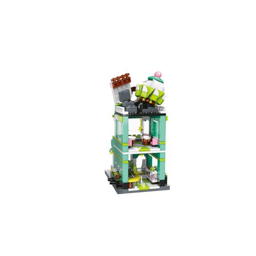 Qman Keeppley Pokémon Bulbasaur Dessert House