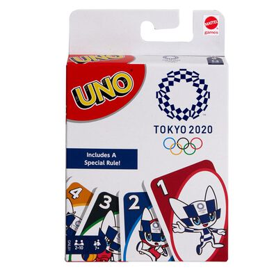 Uno Olympics Cards