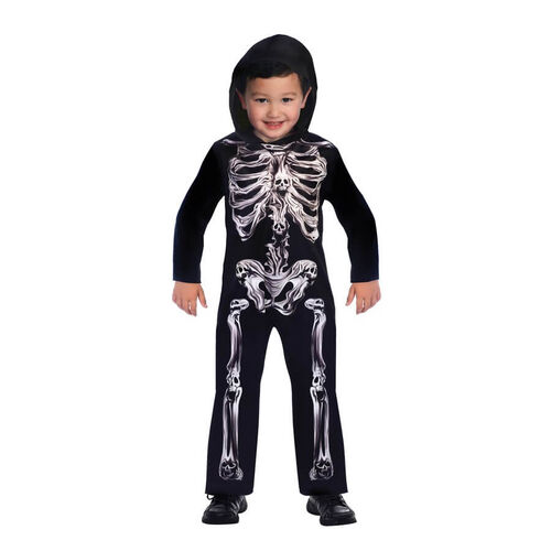 Amscan Halloween Spooky Skeleton Costume